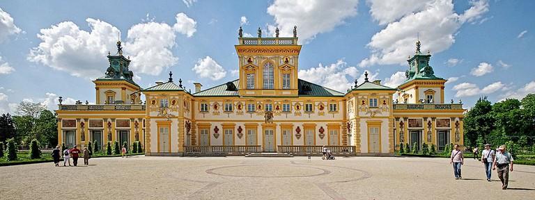 Exterior of the Wilanów Palace
