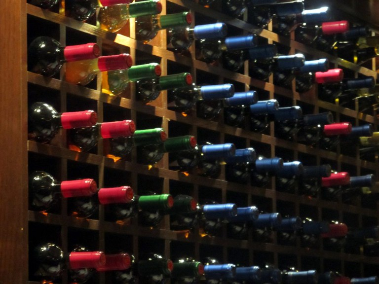wine bottles   Publicdomainpictures.net