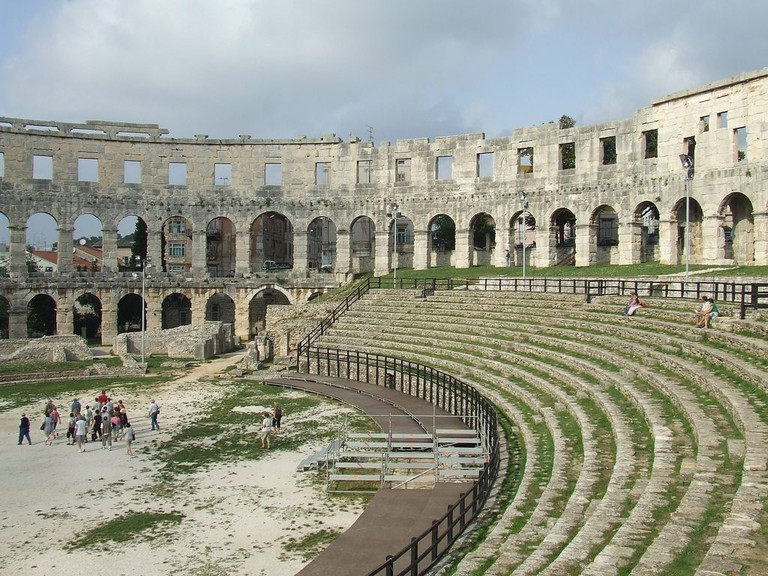 Pula Amphitheatre | © Chris Yunker/Flickr