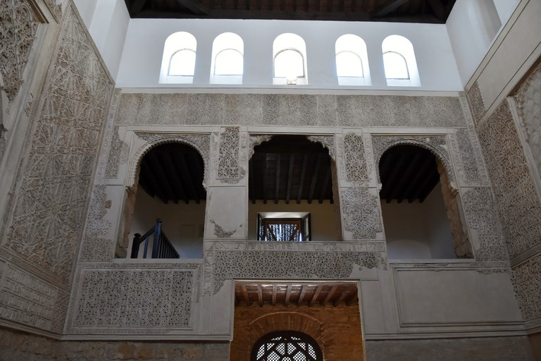 The Mudejar interior of Córdoba's synagogue