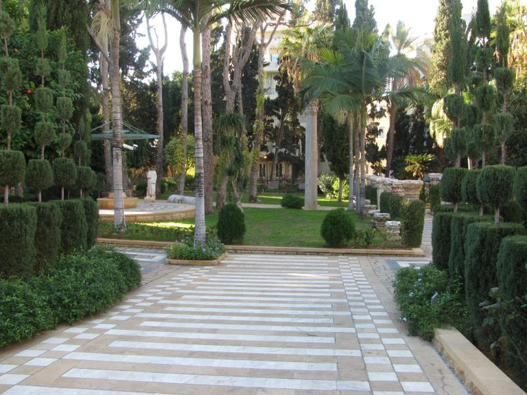 Entrance and Gardens, Robert Mouawad Museum