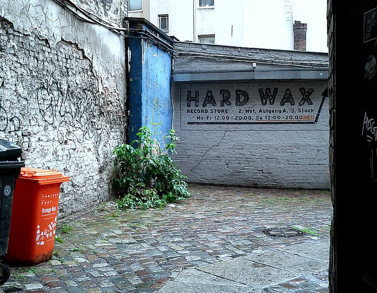 The hidden entrance to the one and only Hard Wax