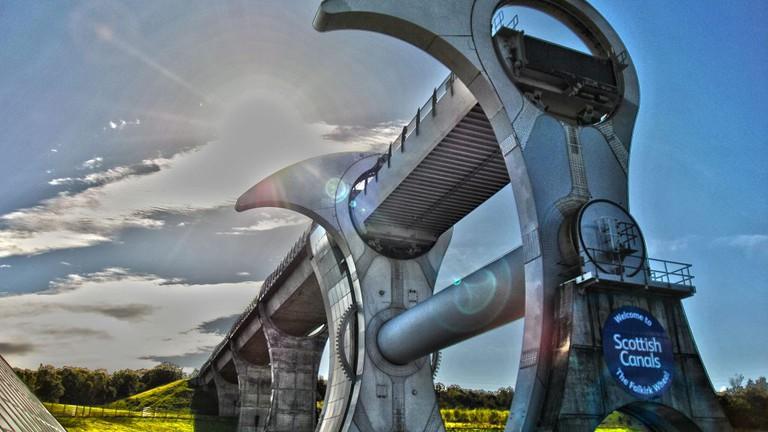 Falkirk Wheel | © Pranavian/Flickr