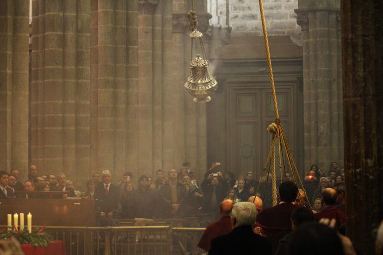 Botafumeiro, Cathedral de Santiago de Compostela, Galicia   ©Contando Estrelas / Flickr
