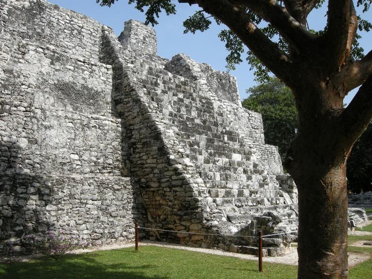 El Meco Site Cancun, Mexico