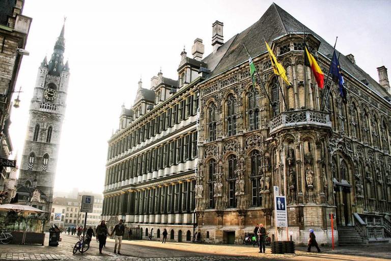 Ghent City Hall | public domain / Pixabay