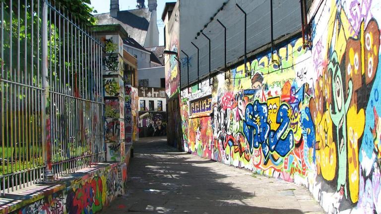 Graffiti alley | © Ella Mullins / Flickr