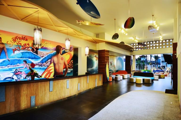 Bliss Surfer Hotel Lobby