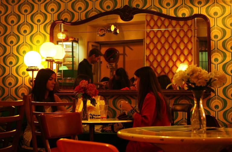 Lolina Vintage Café in Malasaña does excellent cocktails