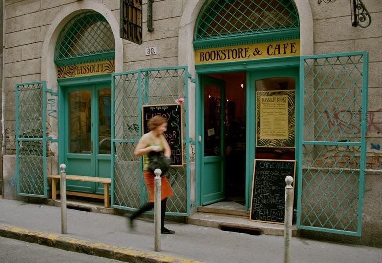 Massolit Books & Café in Budapest