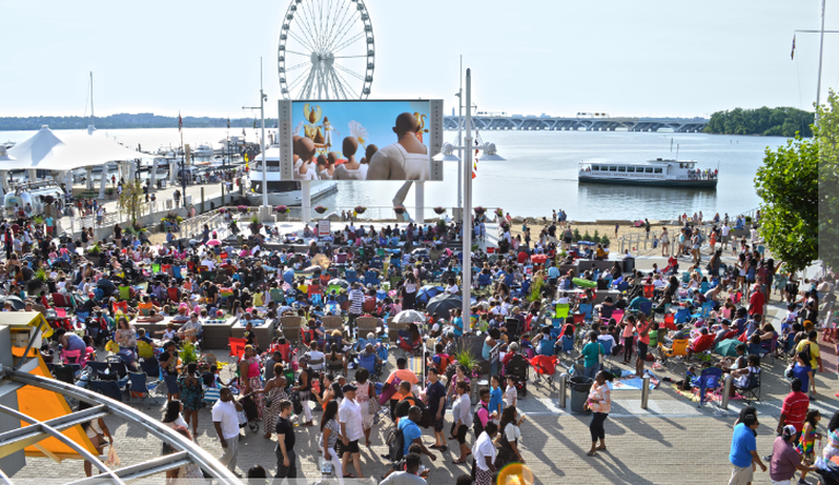 Movies on the Potomac   Courtesy of National Harbor