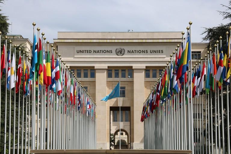 Palace of Nations, Genève