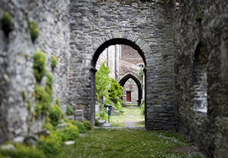 St. Bavo's Abbey ruins | courtesy of Visit Ghent