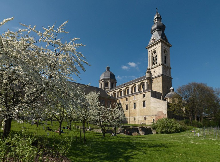 St. Peter's Abbey gardens | courtesy of Visit Ghent