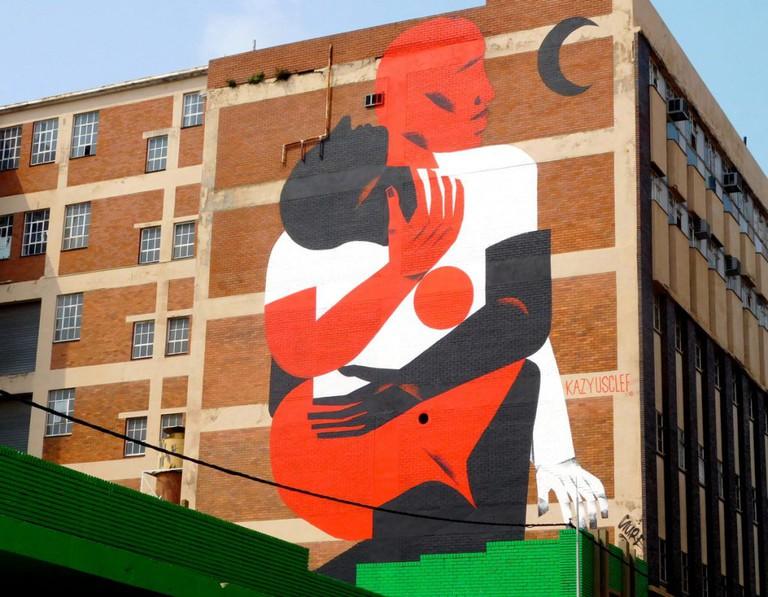 Street art Kazy Usclef