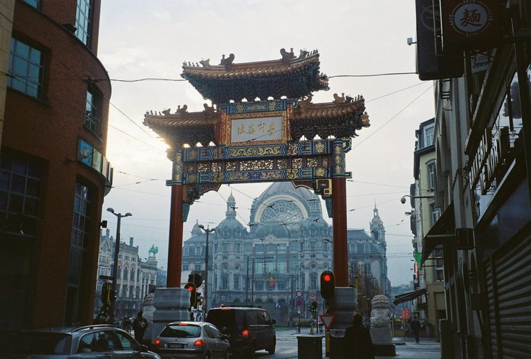 The Pagode arch to Antwerp's Chinatown | © Bettina Zuric / Flickr