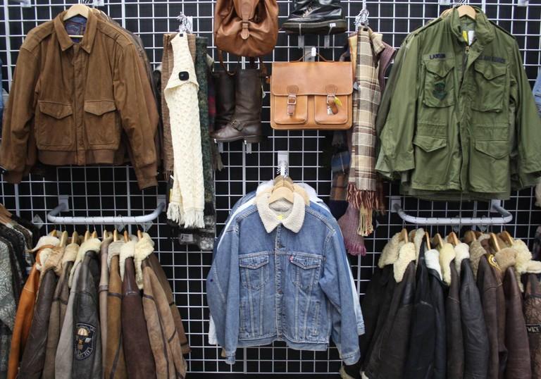 Vintage fashion at COW, Birmingham