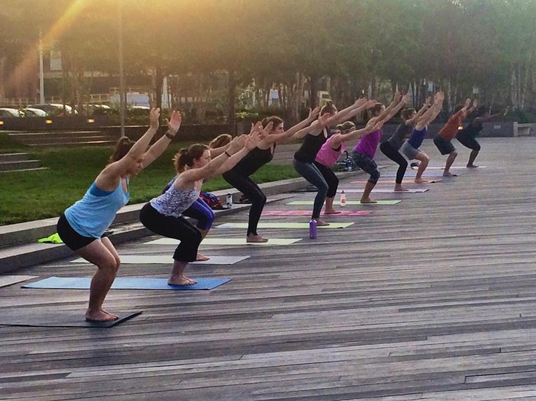 Get Moving at Yards Park