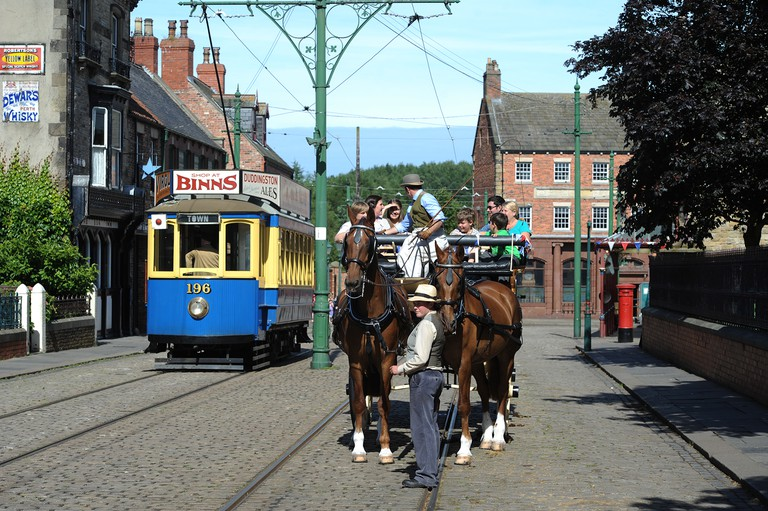 The Town at Beamish
