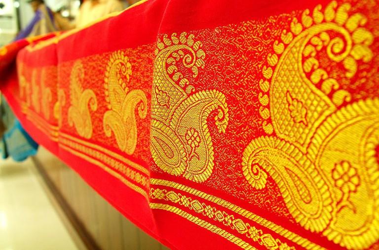 Silk Saree | © Kiranravikumar / Wikimedia Commons