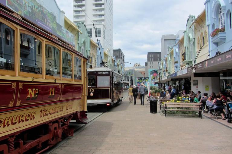 New Regent Street, Christchurch