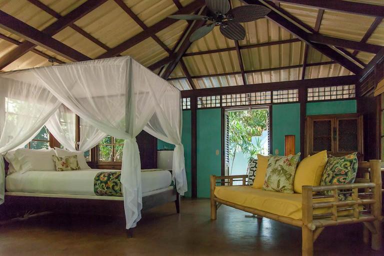 Tropical love house