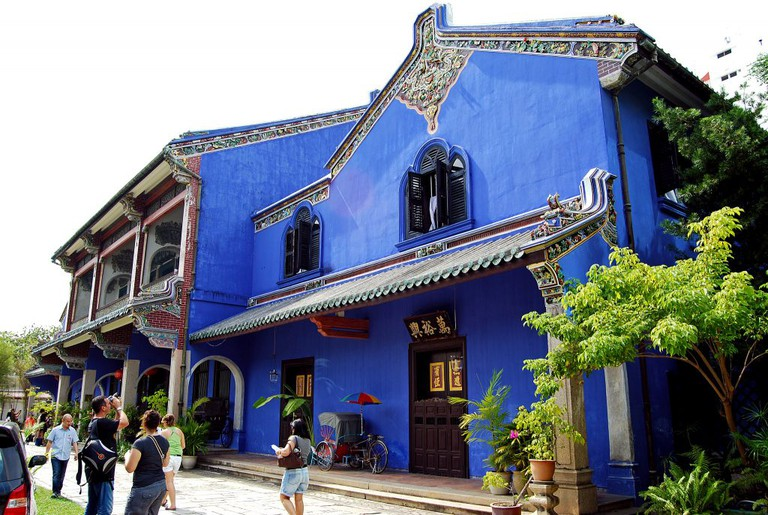 The mansion is divided into a museum and a hotel