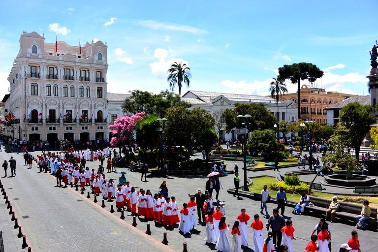 Hotel Plaza Grande, Quito