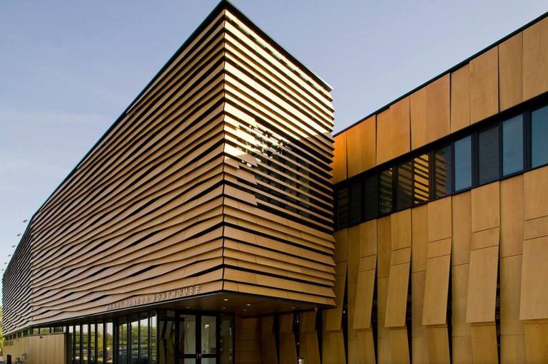 The Community Rowing Boathouse | Courtesy of Anmahian Winton Architects