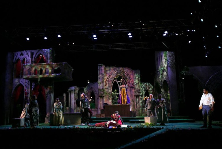 In Production: Romeo and Juliet | Courtesy of Commonwealth Shakespeare Company