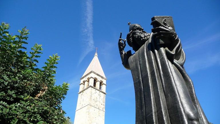 Statue of Grgur Ninski | © Neil Thompson/Flickr