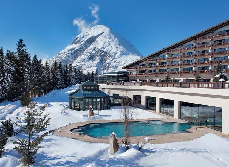 Interalpen-Hotel Tyrol, Telfs