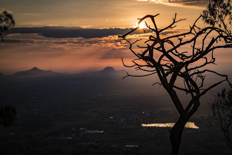 Sunrise at Nandi Hills