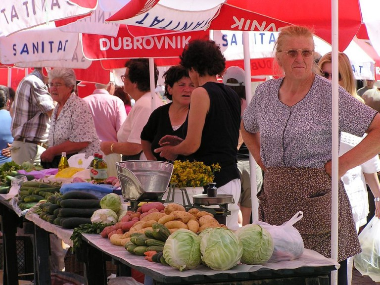 Dubrovnik market | © Stacy/Flickr