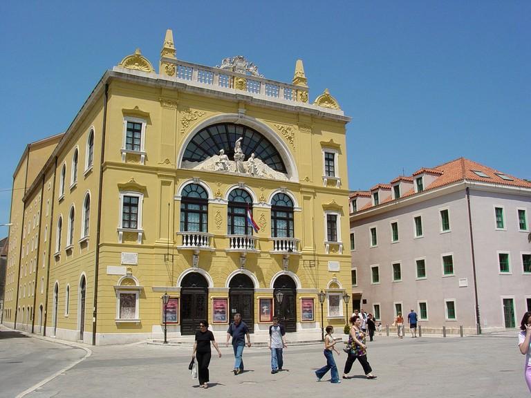 Croatian National Theatre | © Adam Jones/Flickr