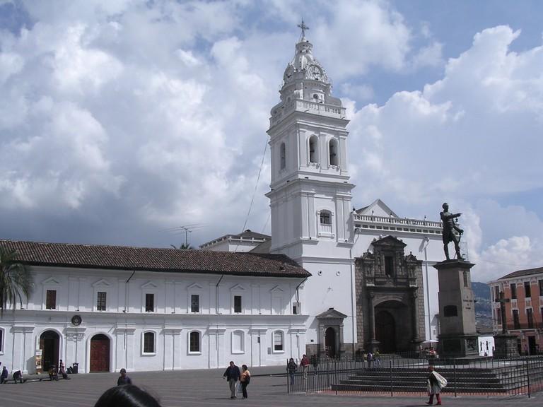 Iglesia Santo Domingo, Quito