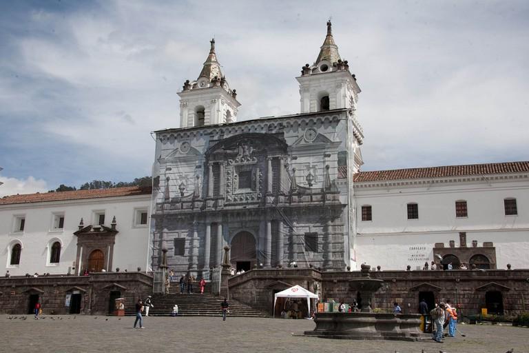 Iglesia San Fransisco, Quito