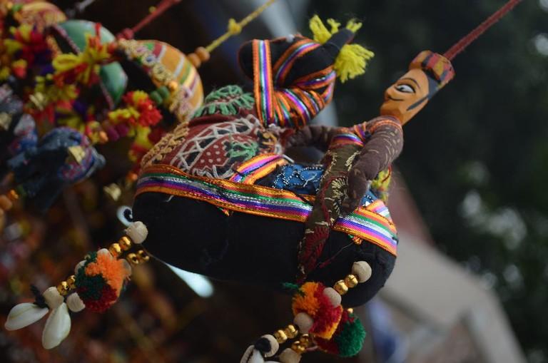 Handicraft Puppets at Dilli Haat | © Priyambada Nath / Flickr