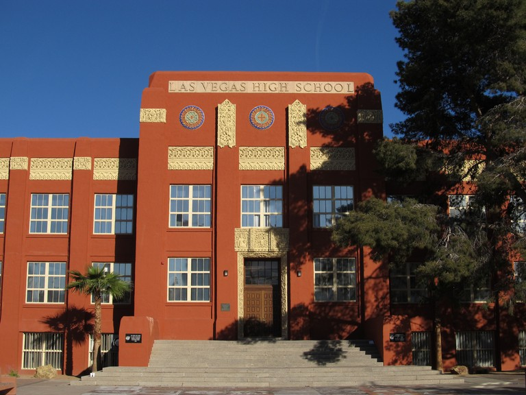 Old Las Vegas High School, Las Vegas, Nevada | © Ken Lund/Flickr