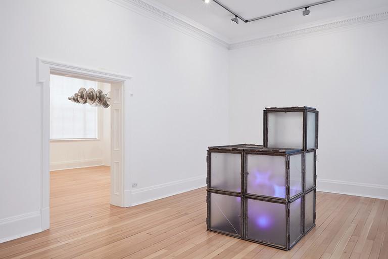 Terry Adkins, Solitude, 2017. Installation view | Thomas Dane Gallery, London.