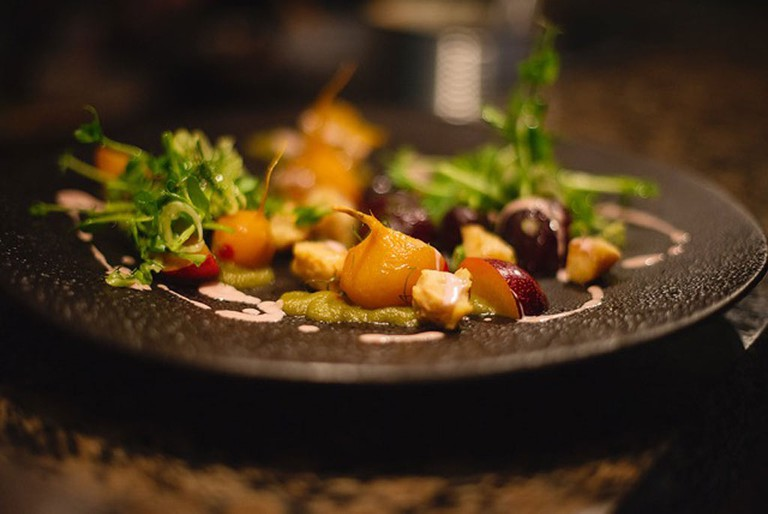All dishes are developed around seasonal produce