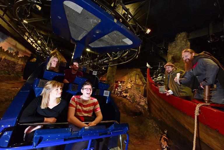 The JORVIK ride experience | Courtesy of JORVIK Viking Centre