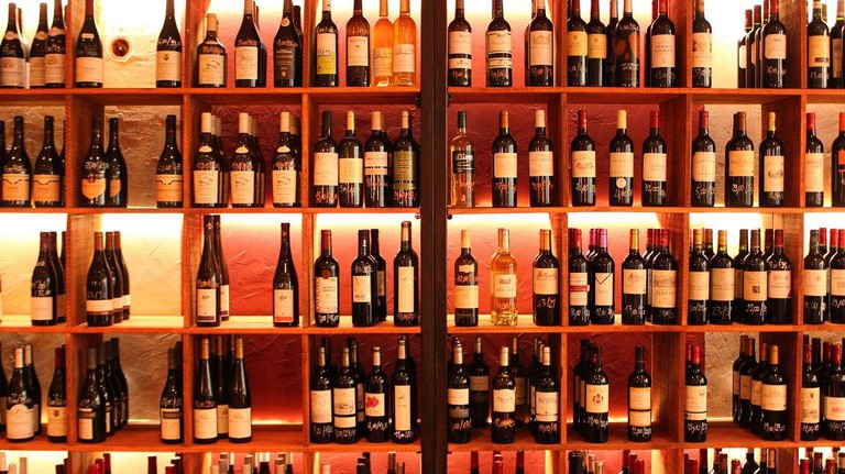 Choose from a large selection of wines at Wine more Time