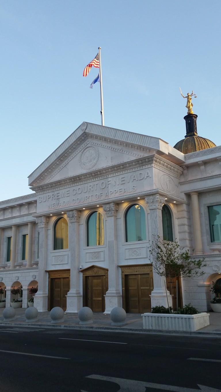 NV Supreme Court Building | © Lauryn Wilder