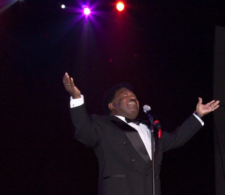 Percy Sledge at the Alabama Music Hall of Fame Concert | Carol M. Highsmith / Wikimedia Commons