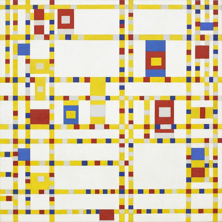 Piet Mondrian, 'Broadway Boogie Woogie' (1943)