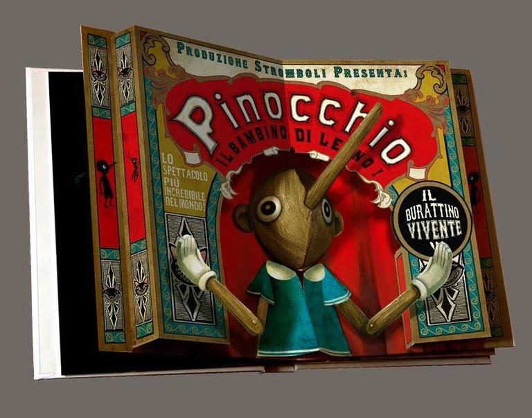 Pinocchio pop-up book at Portal del Col.leccionista, Girona | ©Portal del Col.leccionista