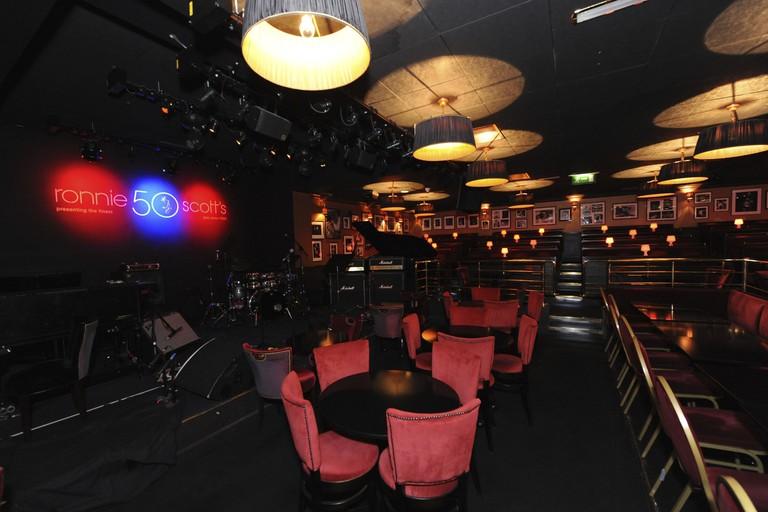 Ronnie Scott's stage