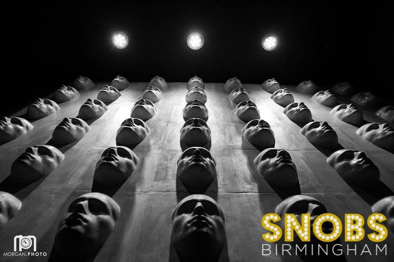 Snobs wall of faces   © Jonathan Morgan/Snobs