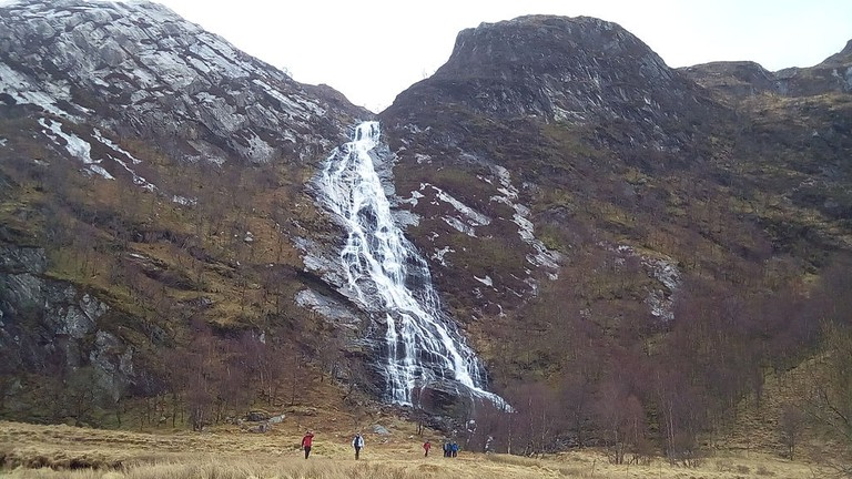 Steall Falls | © WikiCommons